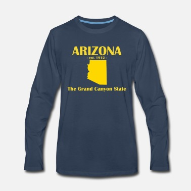 Grand Canyon State Arizona est 1912 Grand Canyon State - Men's Premium Longsleeve Shirt