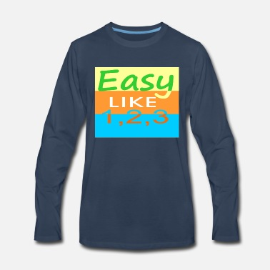 Easy easy - Men's Premium Long Sleeve T-Shirt