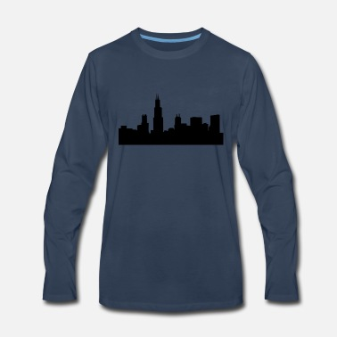 Chicago Chicago - Men's Premium Long Sleeve T-Shirt