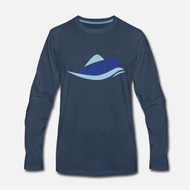 Boat motor boat - Men's Premium Long Sleeve T-Shirt