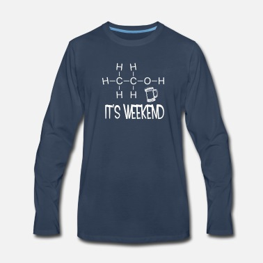 Weekend It is weekend - Men's Premium Long Sleeve T-Shirt