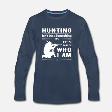 Boar Hunting 01 white - Men's Premium Long Sleeve T-Shirt