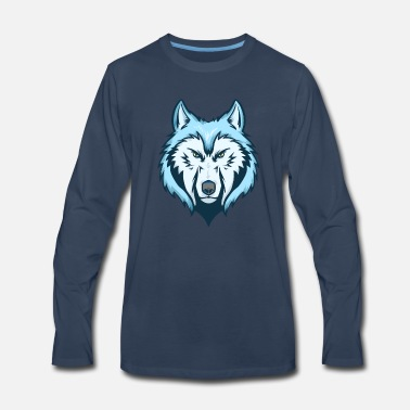 Rip Wolf Predator Alpha Pack Prey Gift Idea Wild - Men's Premium Long Sleeve T-Shirt