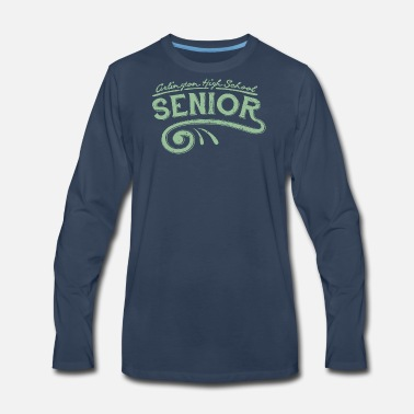 High School Senior Arlington High School SENIOR - Men's Premium Long Sleeve T-Shirt