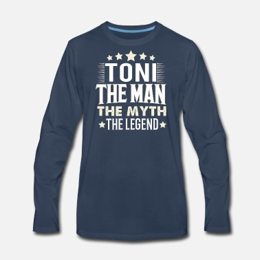 Toni Toni - Men's Premium Long Sleeve T-Shirt