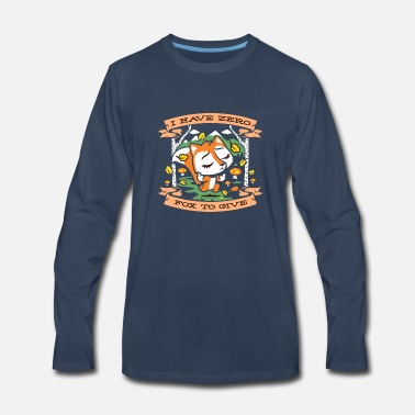 Science Zero Fox To Give - Men's Premium Long Sleeve T-Shirt