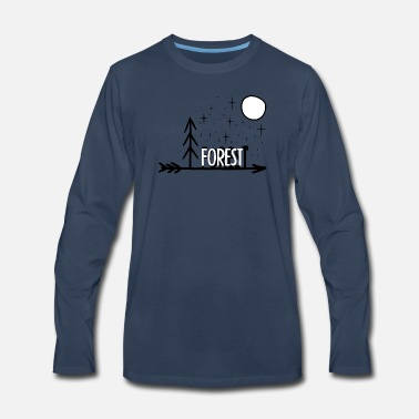 Forest Forest - Men's Premium Long Sleeve T-Shirt