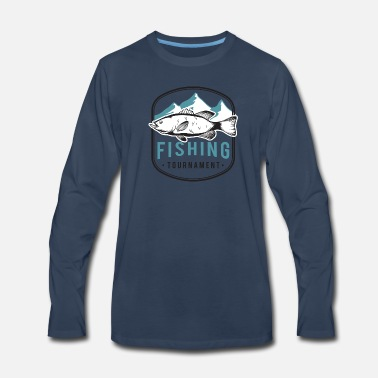 Fishing Tournaments fish tour fishing tournament Mountain - Men's Premium Long Sleeve T-Shirt
