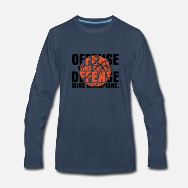 Offensive offense wins games - Men's Premium Longsleeve Shirt