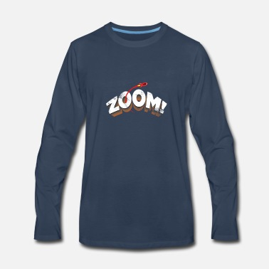 Zoom Rocket Space Zoom Moon Astronaut - Men's Premium Longsleeve Shirt