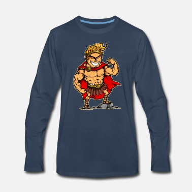 Hercules Hercules Hero Cartoon Children - Men's Premium Longsleeve Shirt