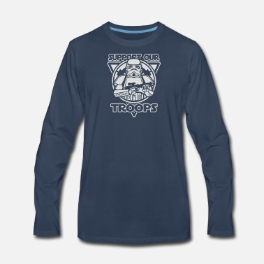 Support our troops - Men's Premium Longsleeve Shirt