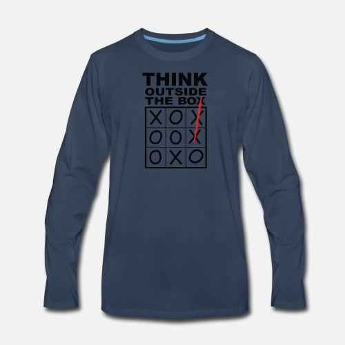 17ac1e8a24b8 Think Outside the box Men s Premium Longsleeve Shirt