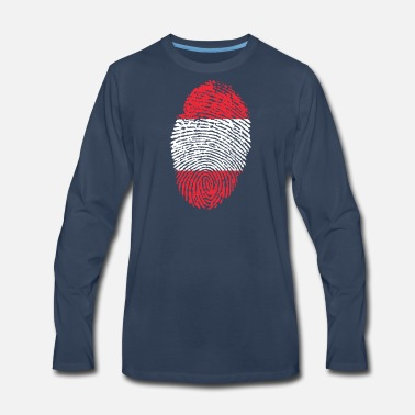 Austria austria - Men's Premium Long Sleeve T-Shirt