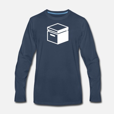 Old Fashioned Old Fashioned Archive Folder - Men's Premium Long Sleeve T-Shirt