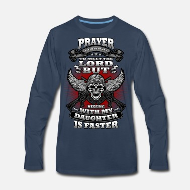 Meeting To Meet the Lord! - Men's Premium Long Sleeve T-Shirt