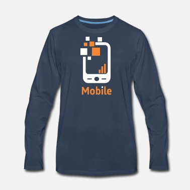 Mobile Mobile - Men's Premium Long Sleeve T-Shirt