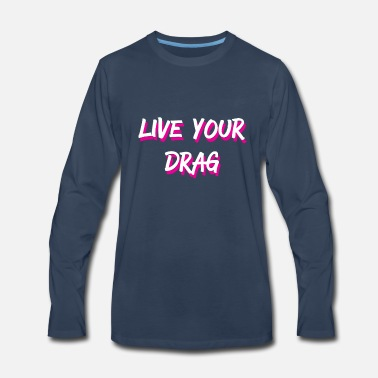 Shade Dragqueen Drag Gay Condragulations Ru Dragrace - Men's Premium Long Sleeve T-Shirt