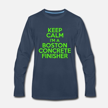 Finisher Boston concrete finisher - Men's Premium Longsleeve Shirt