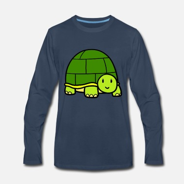 Little turtle - Men's Premium Longsleeve Shirt