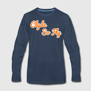 Clyde So Fly Classic - Men's Premium Long Sleeve T-Shirt