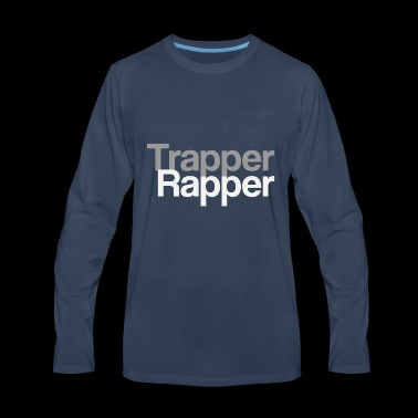 TrapperRapper - Men's Premium Long Sleeve T-Shirt