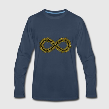 Infinite - expression of number - Men's Premium Long Sleeve T-Shirt