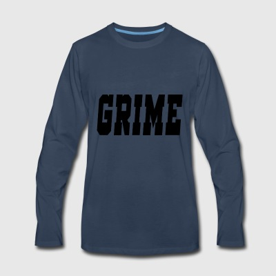 grime - Men's Premium Long Sleeve T-Shirt