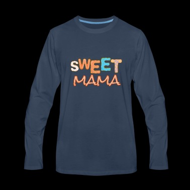 Sweet Mama Decorated Sugar Cookies - Men's Premium Long Sleeve T-Shirt