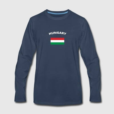 ich liebe home heimat love wurzeln HUNGARY - Men's Premium Long Sleeve T-Shirt