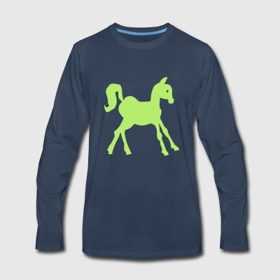 pony - Men's Premium Long Sleeve T-Shirt