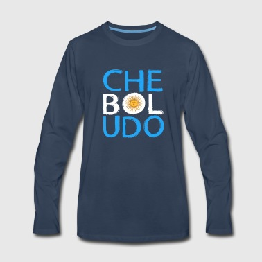 Che Boludo - Funny Argentinian Pride - Men's Premium Long Sleeve T-Shirt