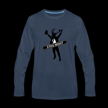 The Grooms Drinking Team - Men's Premium Long Sleeve T-Shirt
