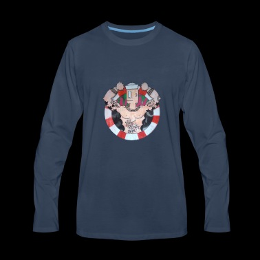 Barcelona Sailor - Men's Premium Long Sleeve T-Shirt