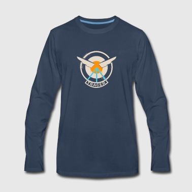 Tracer Overwatch Wings - Men's Premium Long Sleeve T-Shirt