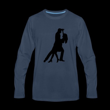dancing - Men's Premium Long Sleeve T-Shirt