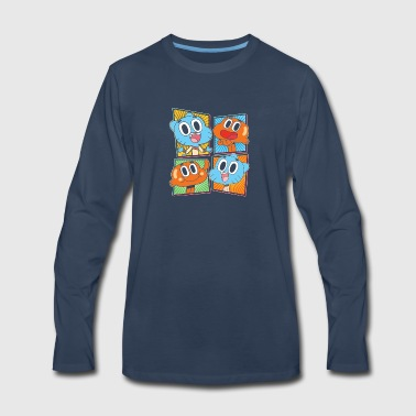 New Design Gumball Darwin Best Seller - Men's Premium Long Sleeve T-Shirt