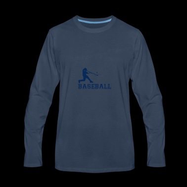 Baseball Player - Men's Premium Long Sleeve T-Shirt