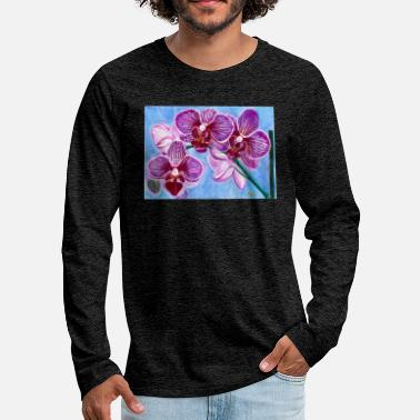 Orchid of Hope - Men's Premium Longsleeve Shirt