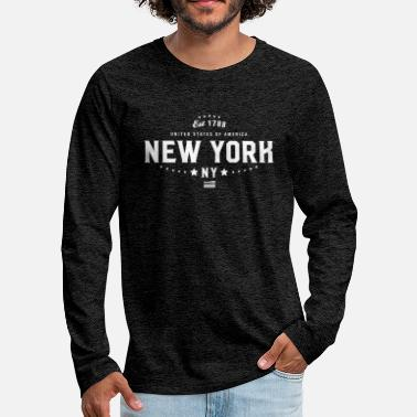 City-state New York City State Pride - Men's Premium Longsleeve Shirt