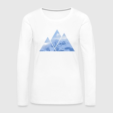 Mountains in Mountains - Women's Premium Long Sleeve T-Shirt
