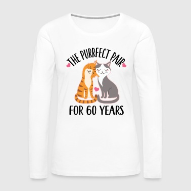60th Anniversary Gift 60 Years - Women's Premium Long Sleeve T-Shirt