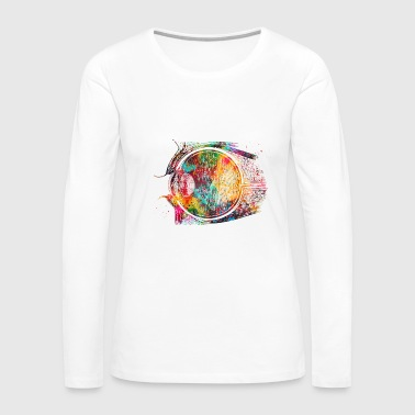 Eye - Women's Premium Long Sleeve T-Shirt