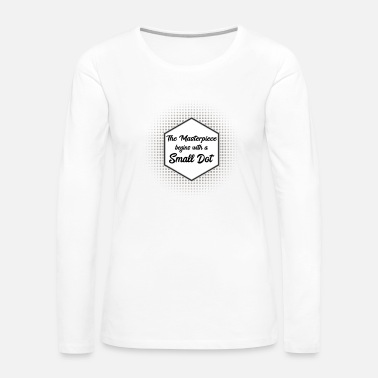 Day International Dot Day - Women's Premium Long Sleeve T-Shirt