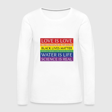 Solidarity rainbow solidarity - Women's Premium Long Sleeve T-Shirt