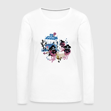 Under Water Criminal - Women's Premium Long Sleeve T-Shirt