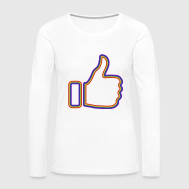 Thumbs thumbs up - Women's Premium Long Sleeve T-Shirt