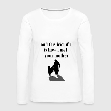 TV,Watch TV, quotes, series, television, series - Women's Premium Long Sleeve T-Shirt