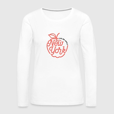 Big Apple The Big Apple New York - Women's Premium Long Sleeve T-Shirt