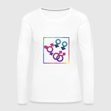 Sexuality sexually free - Women's Premium Long Sleeve T-Shirt